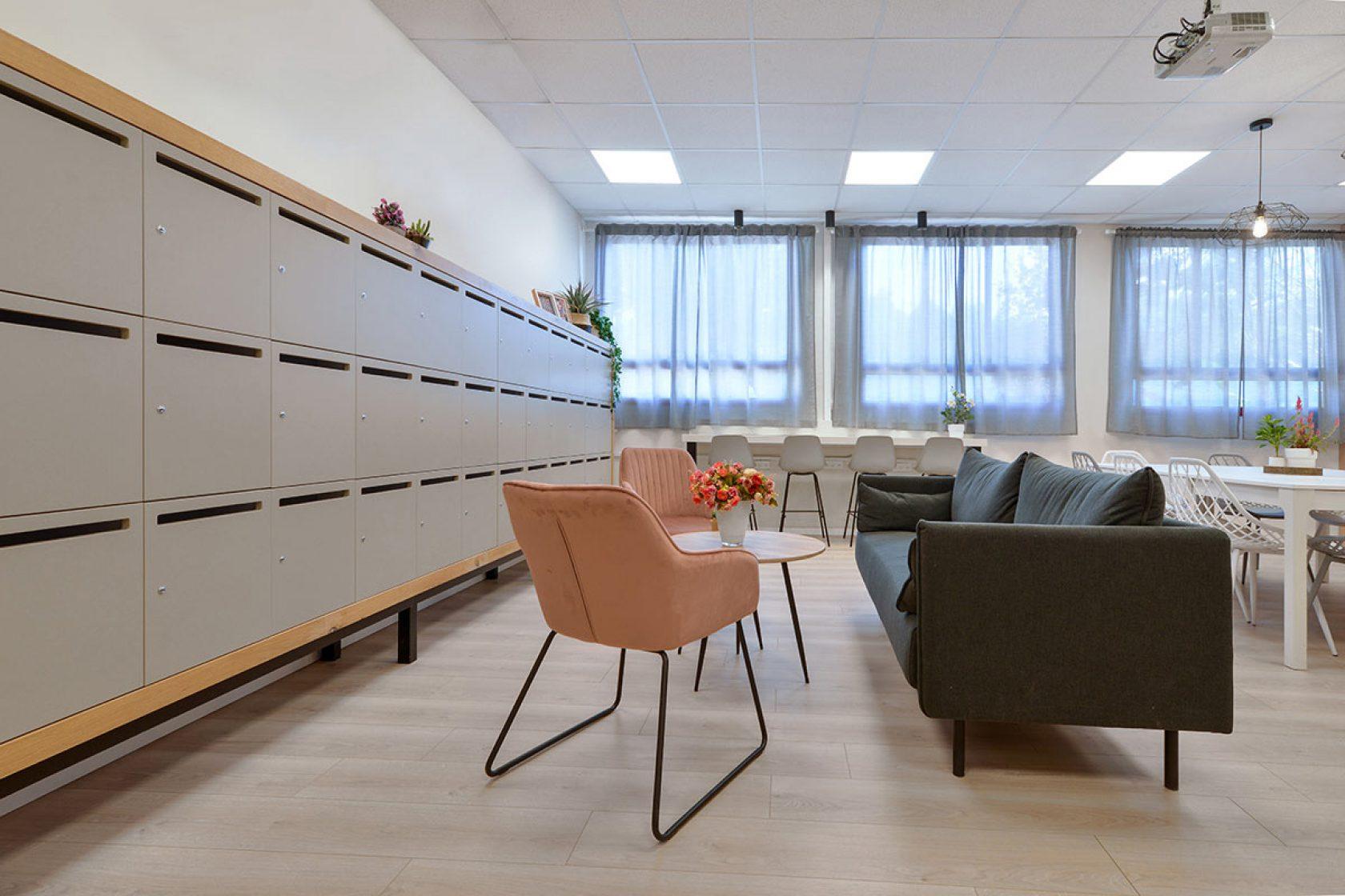 Teacher's Lounge <br/>Ben-Zvi school<br/> Nes Ziona